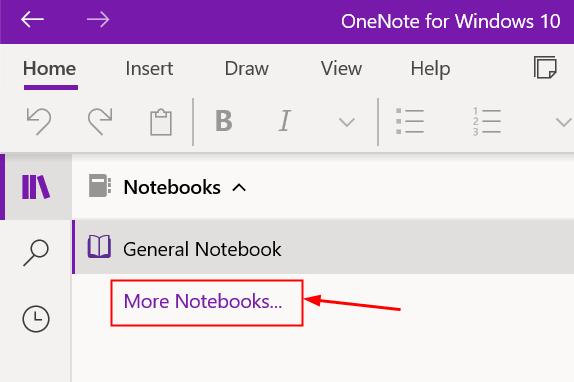 More Notebooks Onenote Windows Min