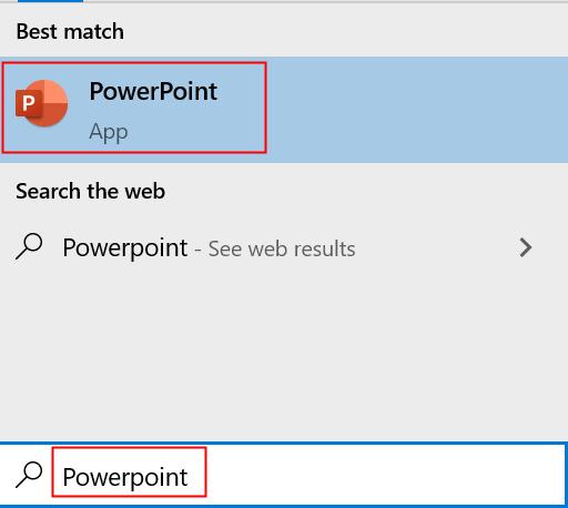 Open Powerpoint Min