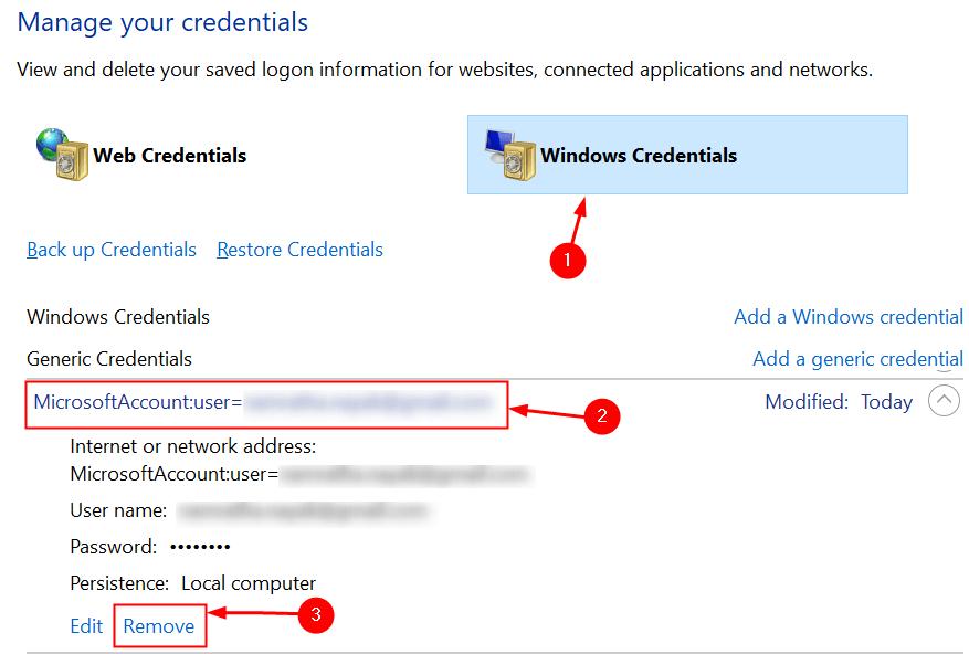 Remove Office Credentials Min