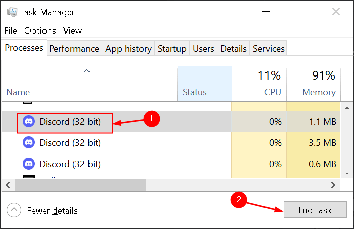 Task Manager End Discord Process Min