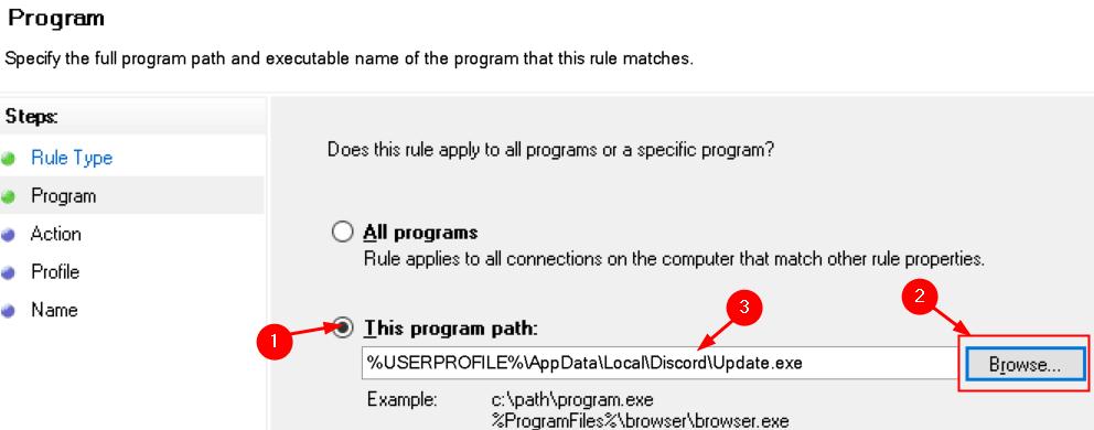Wfas New Rule Program Path Browse Min