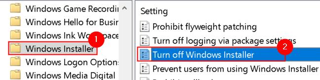 Windows Installer Turn Off Windows Installer Min