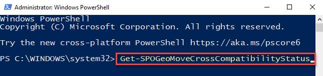 Windows Powershell (admin) Run Command For Geo Location Compatibility Enter