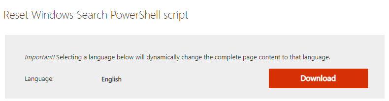Windows Search Powershell Script Download