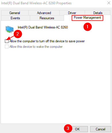 Wireless Power Management Untick Allow The Computer