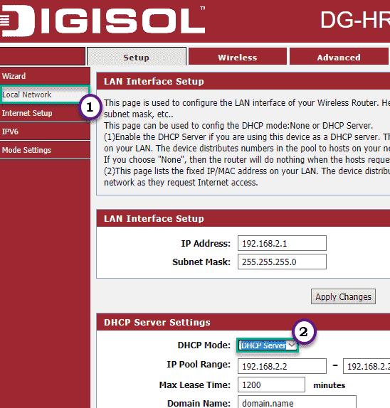 Dhcp Server Min