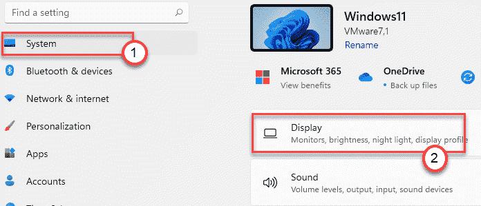 Display Min