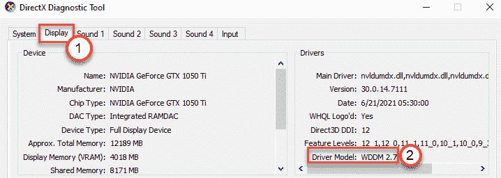 Driver Model Min
