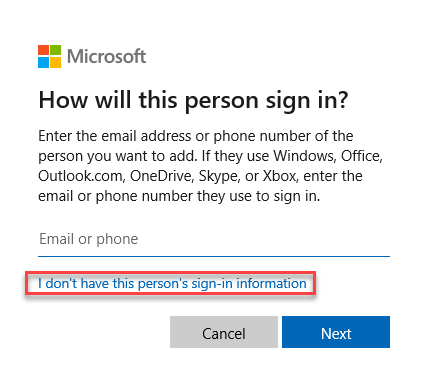 I Don't Have Min