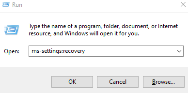 Mssettings Recovery