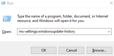 Mssettings Windowsupdate History