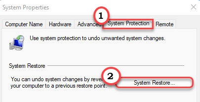 System Restore Min