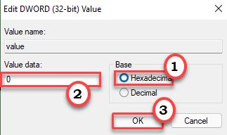 Value 0 Min