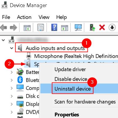 Audio Input Output Drivers Uninstall Min