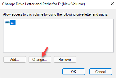 Change Drive Letter And Paths Change