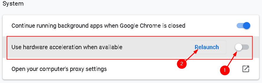 Chrome Disable Hardware Acceleration Min