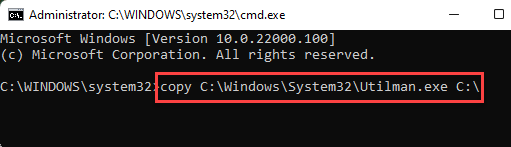 Command Prompt Run Command To Start Creating Intital User Account Enter