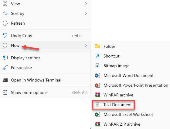 Desktop Right Click New Text Document Min (1)