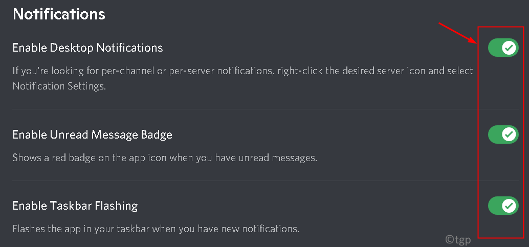 Discord Enable Notifications Min