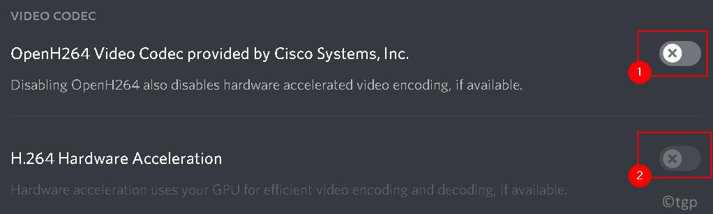 Discord Video Codec Settings Min