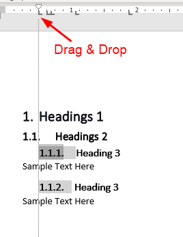 Drag And Drop The Ruler