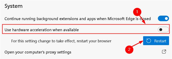 Edge Disable Hardware Acceleration Min