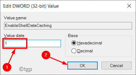 Edit Dword Value Enable Data Caching Min