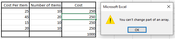 Excel Sample Data With Error