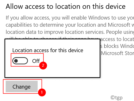 Location Off Allow Access To Location Min