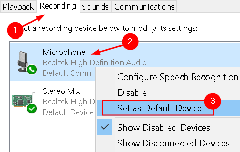 Microphone Set As Default Device Min