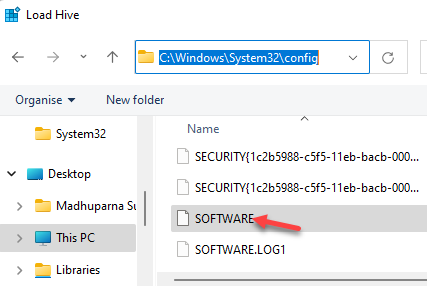 Navigate To Config Folder Software Double Click
