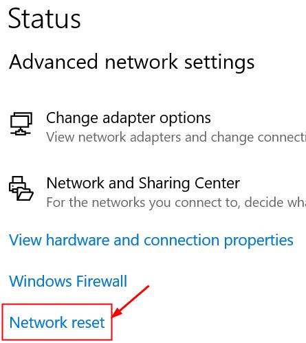 Networ Internet Network Reset Min