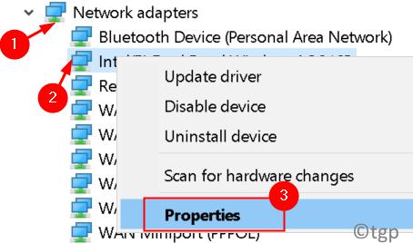 Network Adapter Properties Min