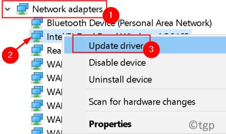Network Adapter Update Driver Min