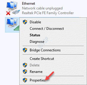 Network Connections Internet Connection Right Click Properties 1 Min