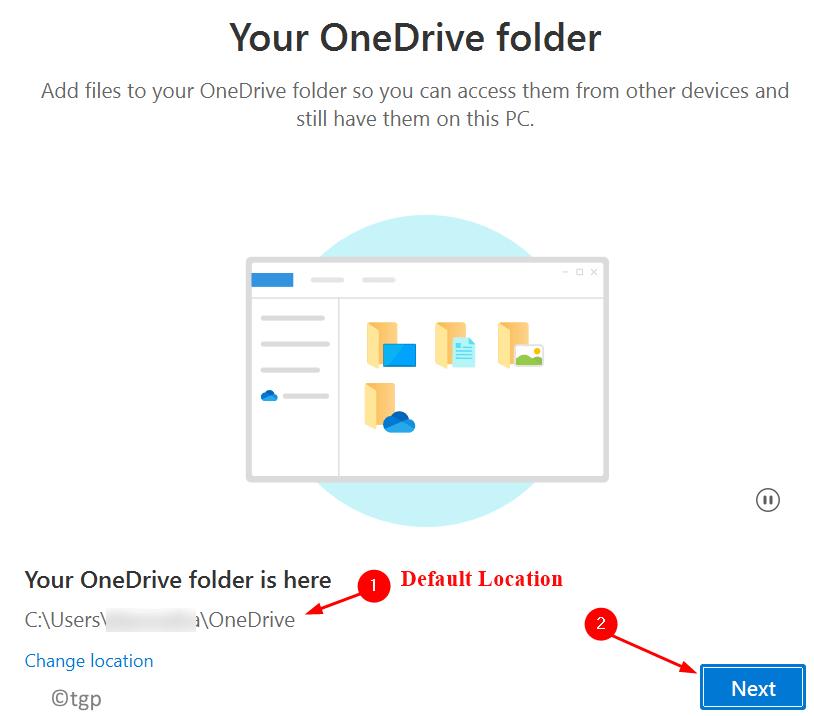 Onedrive Default Folder Select Min