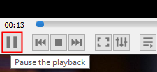 Pause The Playback