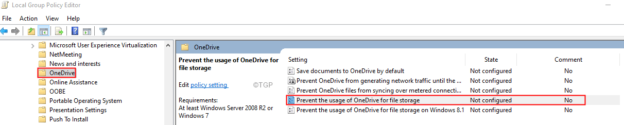 Prevent The Usage Of One Drive Min (1)