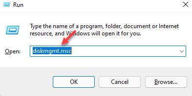 Run Command Diskmgmt.msc Enter