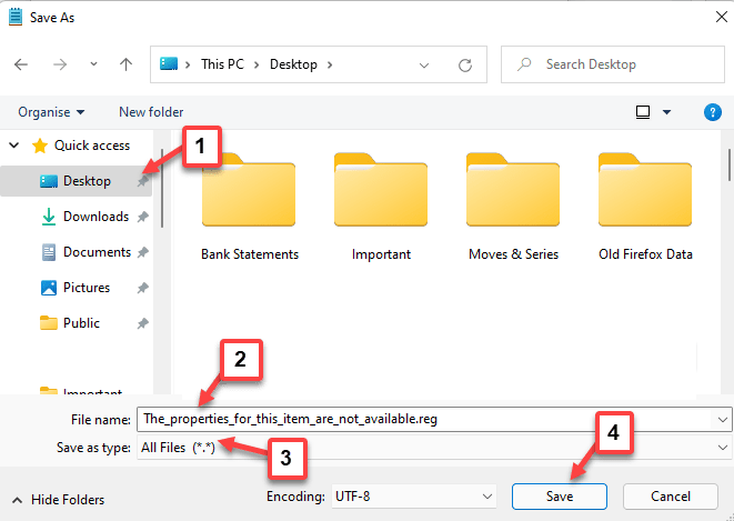 Save As Location File Name Save As Type All Files Save Min
