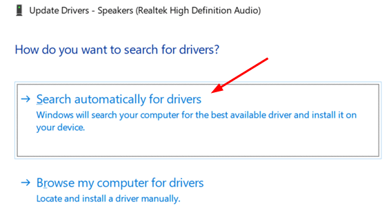 Search Automatically Drivers Min