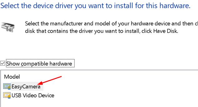 Select Device Driver Min