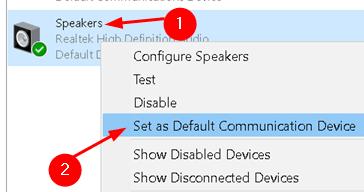 Sound Playback Set Default Communication Device Min