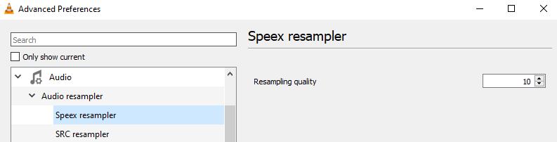 Speex Resampler 10