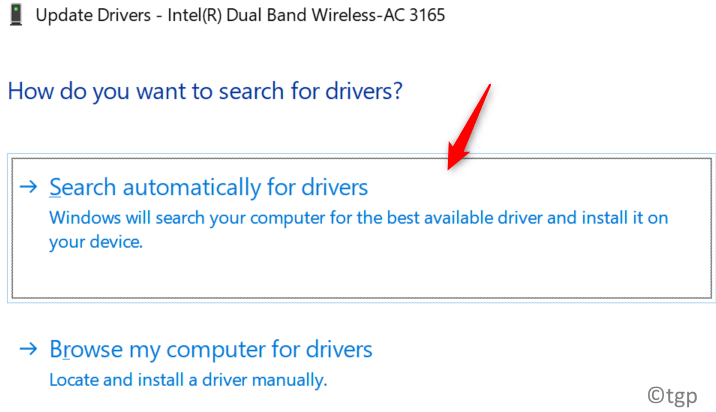 Update Driver Search Automatically Min