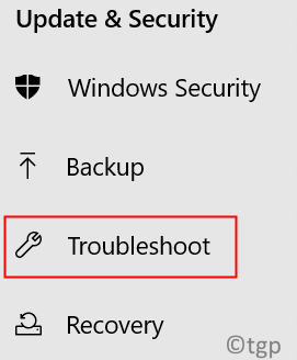 Update Security Troubleshoot Min