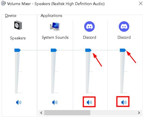 Volume Mixer Discord Sound Settings Min