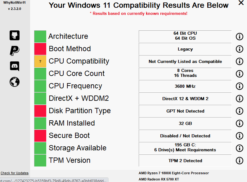 Whynotwin11 Pulls Up Your Pc Details Min