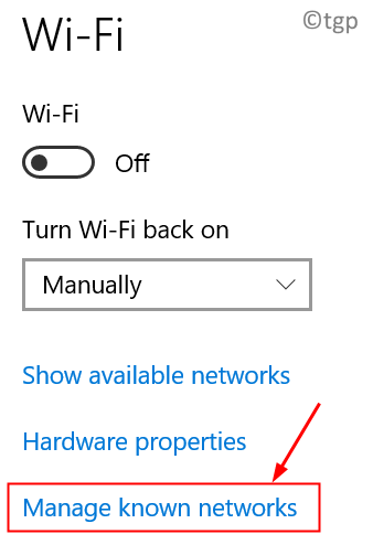 Wifi Manage Known Networks Min