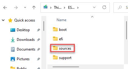 Windows 11 Iso Dvd Drive Sources Folder